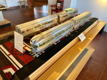 Winslow Arts Trust Santa Fe Model Railcars - Tons of Fun Things to Do in Winslow Arizona
