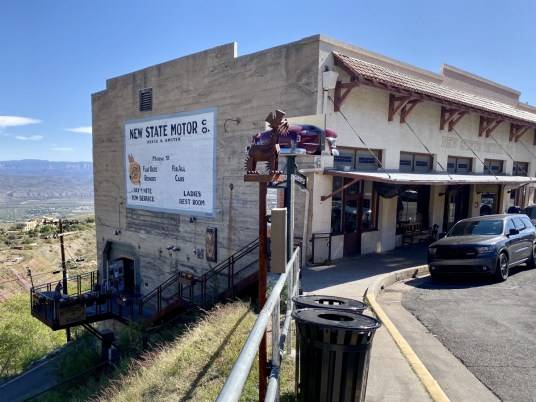 Jerome AZ New State Motor Co.  - 7+ Amazing Attractions in Verde Valley AZ