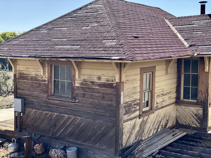 Perkinsville depot - Ride Arizona's Verde Canyon Railroad