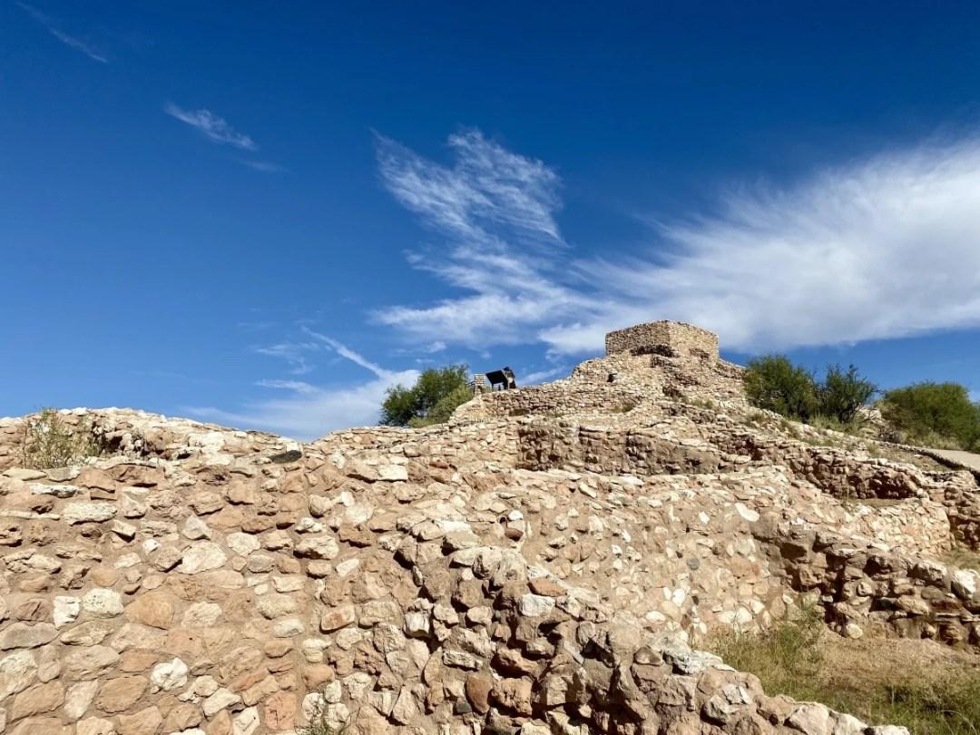 Tuzigoot NM ridge - 7+ Amazing Attractions in Verde Valley AZ