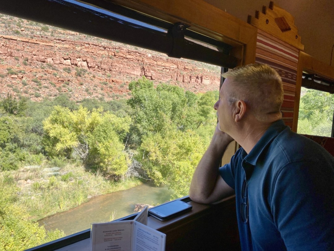 Verde Canyon Railroad railcar viewing - Ride Arizona's Verde Canyon Railroad