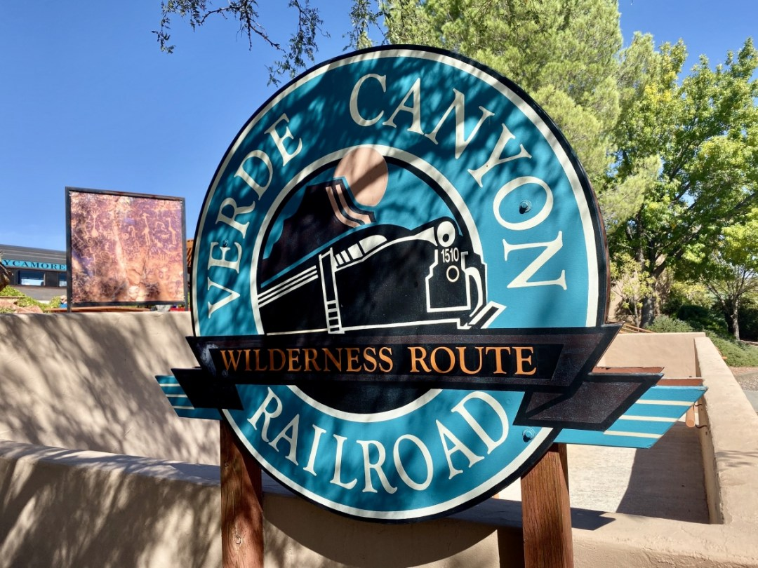 Verde Canyon Railroad sign - Ride Arizona's Verde Canyon Railroad