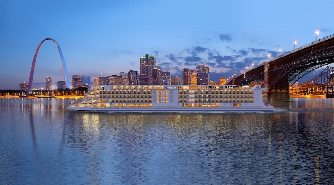 CC Viking Mississippi St Louis TALL RND - 4 New Viking Mississippi River Cruise Routes Announced