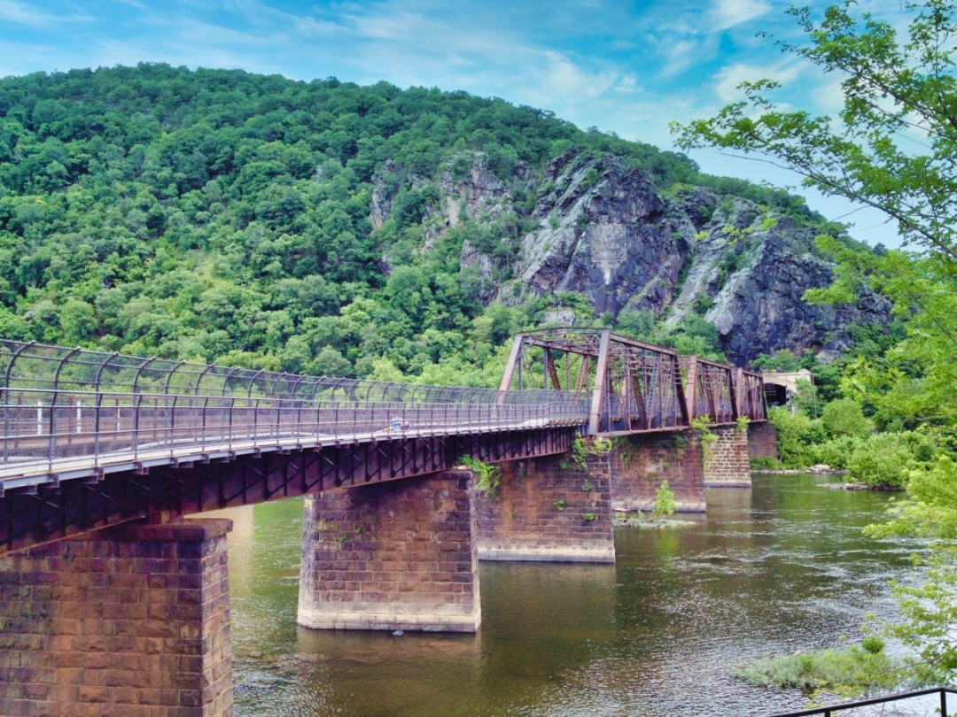 Footbridge to Maryland Heights - Things to Do in Harpers Ferry WV: History, Hikes & Whitewater