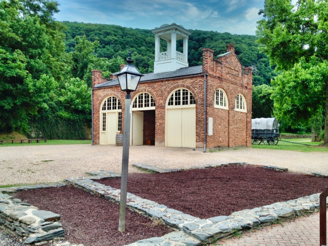 John Browns Firehouse Fort Harpers Ferry - Things to Do in Harpers Ferry WV: History, Hikes & Whitewater