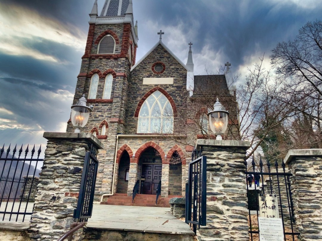 St Peters Church Harpers Ferry  - Things to Do in Harpers Ferry WV: History, Hikes & Whitewater