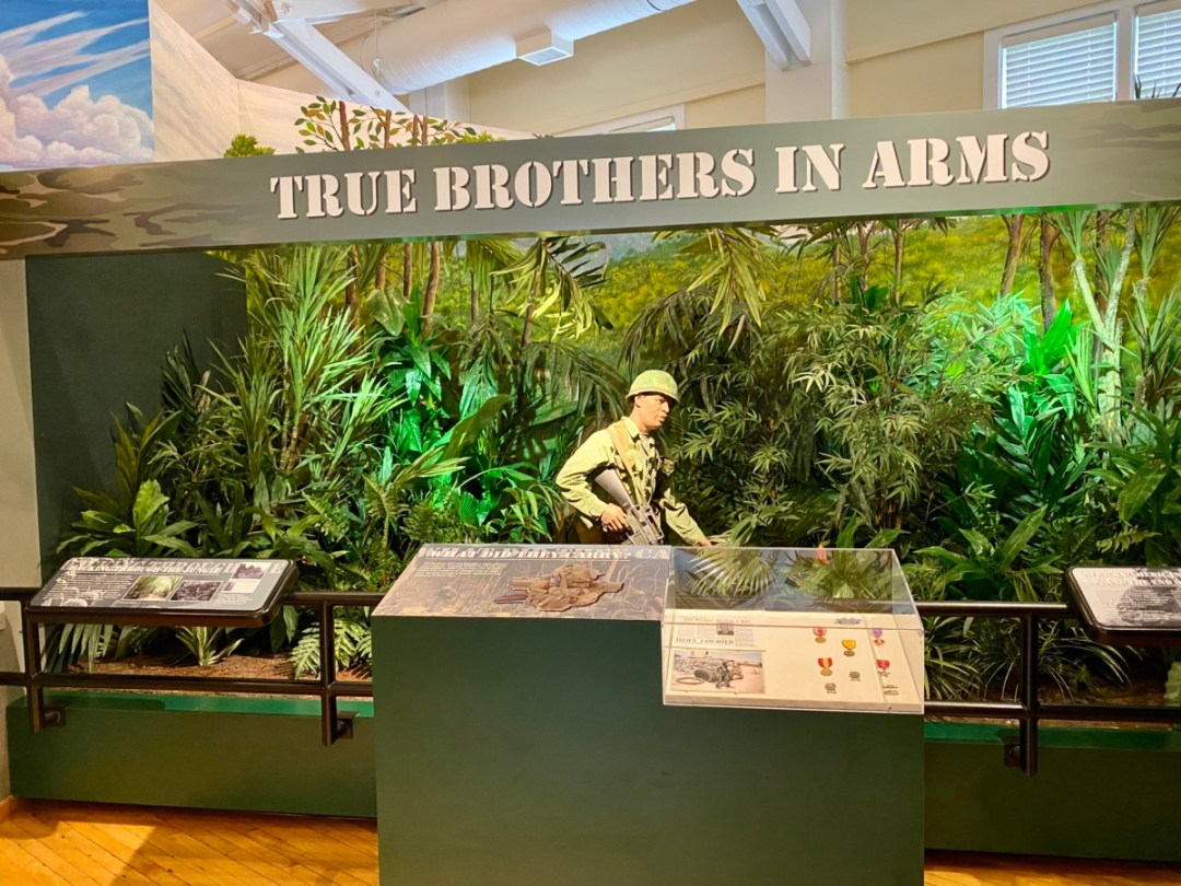 Brothers in Arms exhibit - Explore African American Heritage Sites in Hattiesburg MS