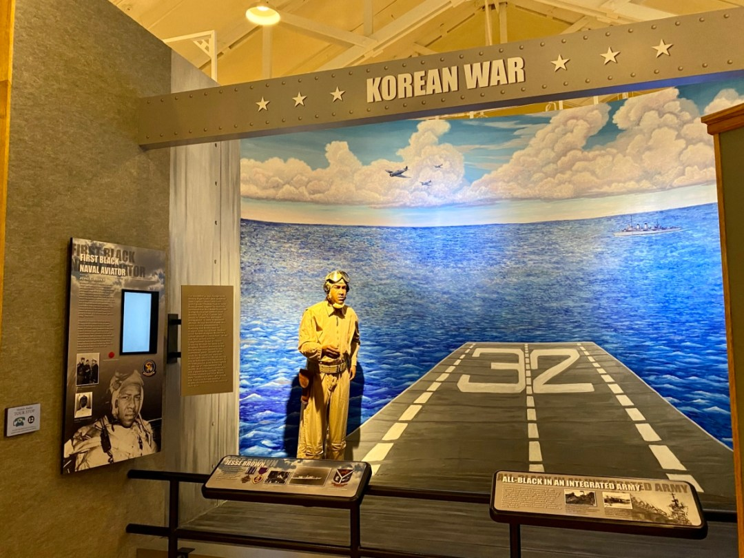 Korean War exhibit - Explore African American Heritage Sites in Hattiesburg MS