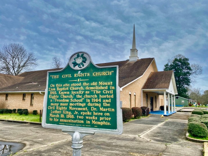 Mt. Zion Baptist Hattiesburg MS - Explore African American Heritage Sites in Hattiesburg MS