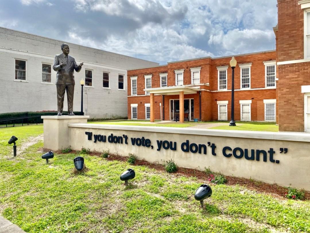 Vernon Dahmer you dont vote count - Explore African American Heritage Sites in Hattiesburg MS