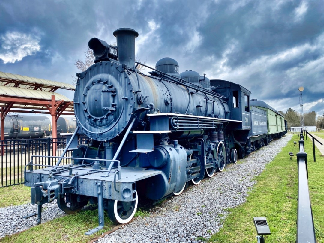 Vintage Train Hattiesburg MS - Explore African American Heritage Sites in Hattiesburg MS