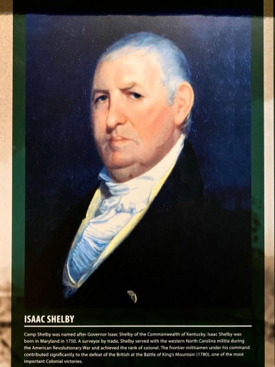 Isaac Shelby portrait - Visit the Mississippi Armed Forces Museum at Camp Shelby