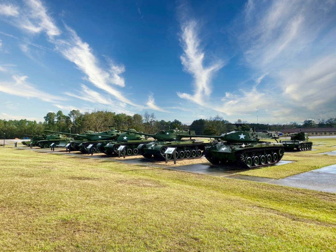 MS Armed Forces Museum tanks - Visit the Mississippi Armed Forces Museum at Camp Shelby