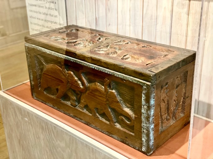 Walter Anderson Elephant Chest. - Meet Three Unconventional Coastal Mississippi Artists