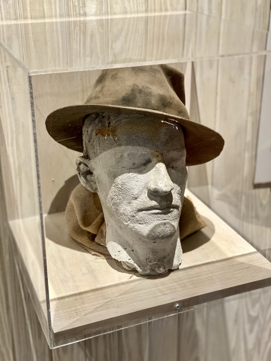 Walter Anderson life mask hat - Meet Three Unconventional Coastal Mississippi Artists