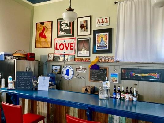100 Men Hall bar - Discover Coastal Mississippi's African American Heritage