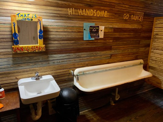 100 Men Hall trough urinal - Discover Coastal Mississippi's African American Heritage