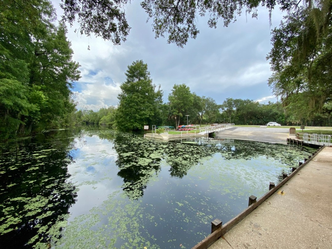 Lake Griffin boat ramp - Discover Lake County Florida Outdoor Adventures