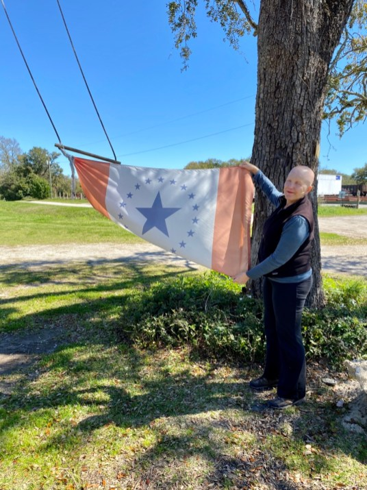 Rachel Dangermond Stennis flag - Discover Coastal Mississippi's African American Heritage