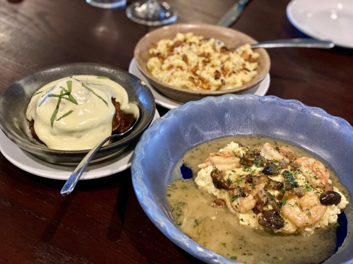 shrimp grits and mac cheese - 18 Favorite Mississippi Gulf Coast Restaurants