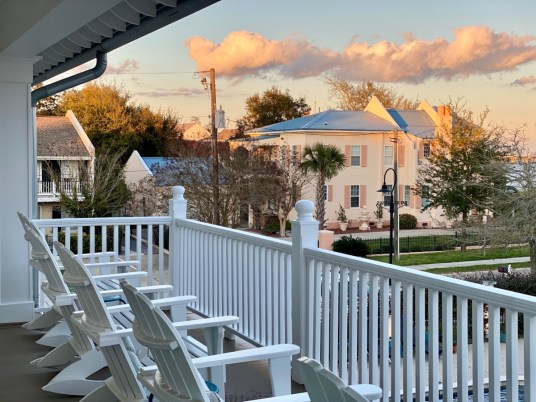 Bay Town Inn veranda - 10 Distinctive Places to Stay in Coastal Mississippi