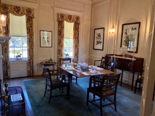 Pebble Hill breakfast room - Encounter Historic Quail Hunt Plantations in Thomasville GA