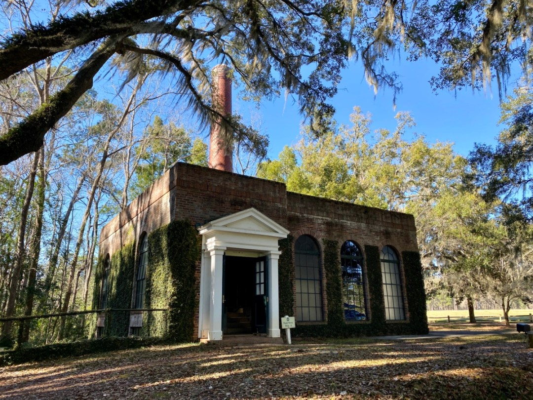 Pebble Hill pump house - Encounter Historic Quail Hunt Plantations in Thomasville GA