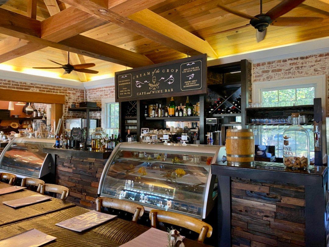 South Eden Cream of the Crop cafe - Encounter Historic Quail Hunt Plantations in Thomasville GA