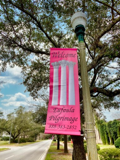 Eufaula Pilgrimage banner - Outdoor & Historical Things to Do in Eufaula Alabama