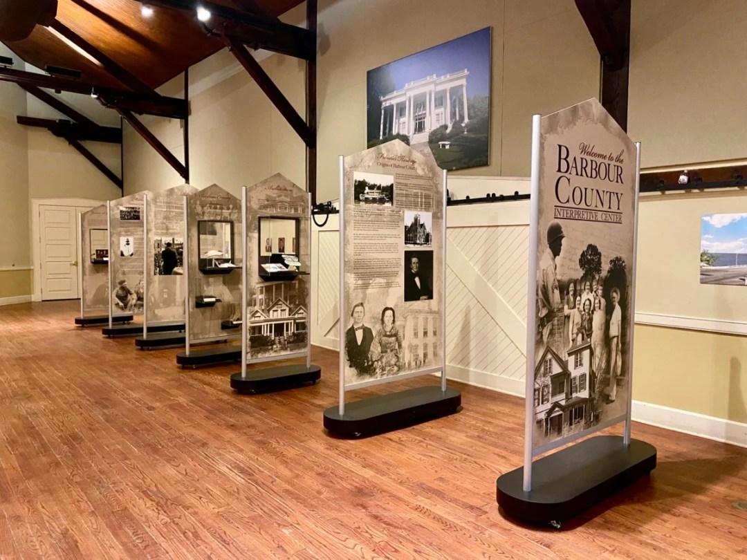 James S. Clrk Interpretive Center Eufaula - Outdoor & Historical Things to Do in Eufaula Alabama