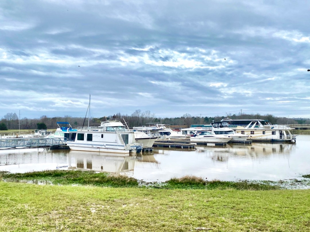 Lakepoint State Park marina - Outdoor & Historical Things to Do in Eufaula Alabama