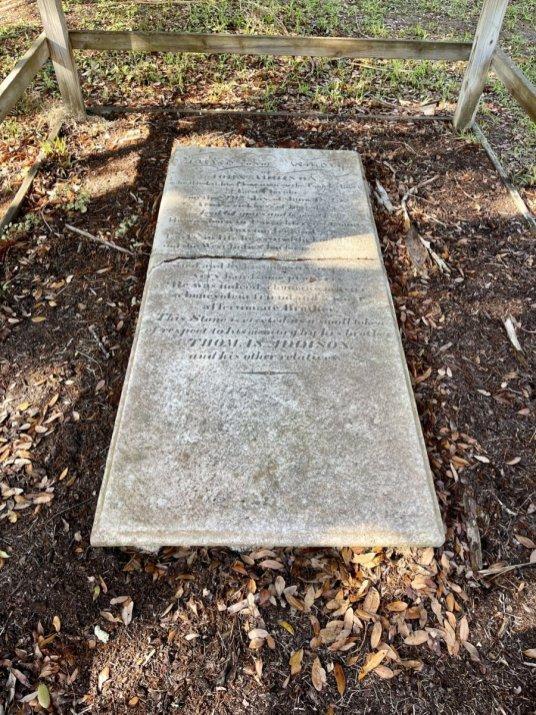 John Addison gravestone Tomoka State Park - Florida's Tomoka State Park Camping, Recreation & History