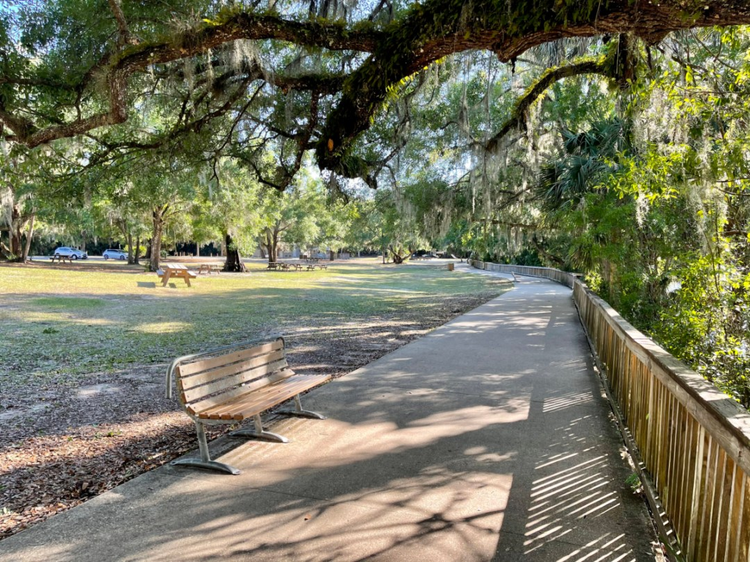 Blue Spring SP accessible path - Discover Florida's Blue Spring State Park & Campground