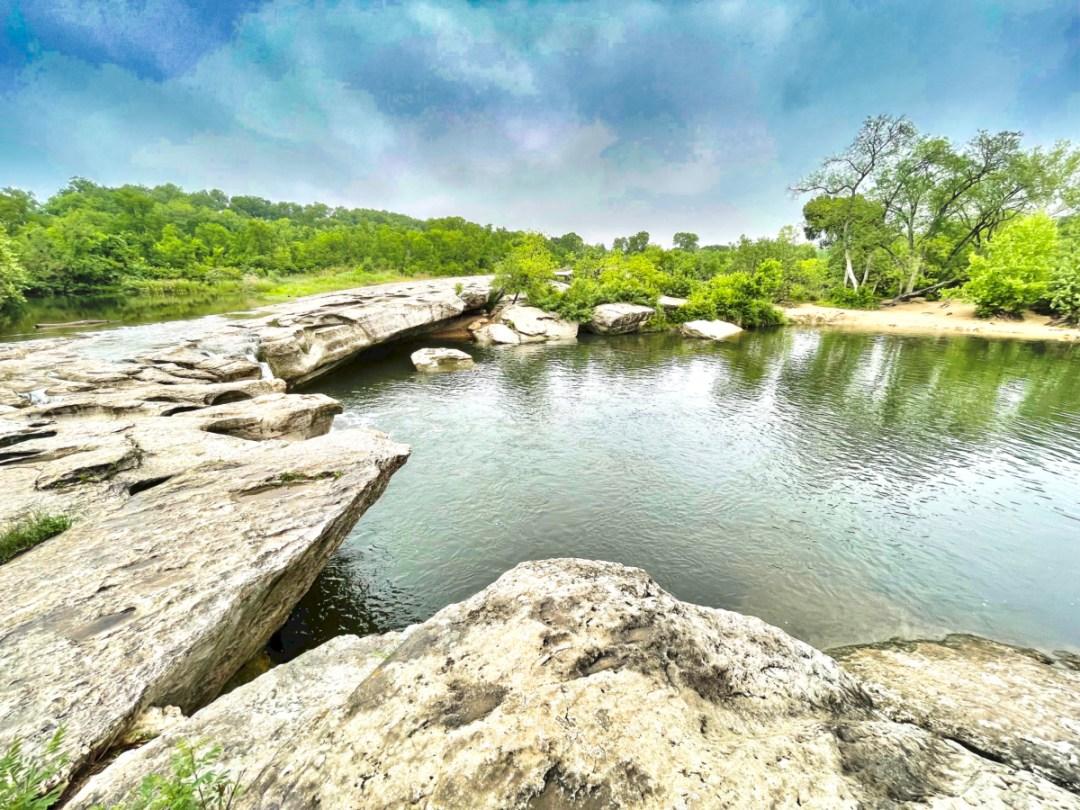 Upper McKinney Falls swimming hole 2 - Plan an Unforgettable McKinney Falls State Park Camping Trip