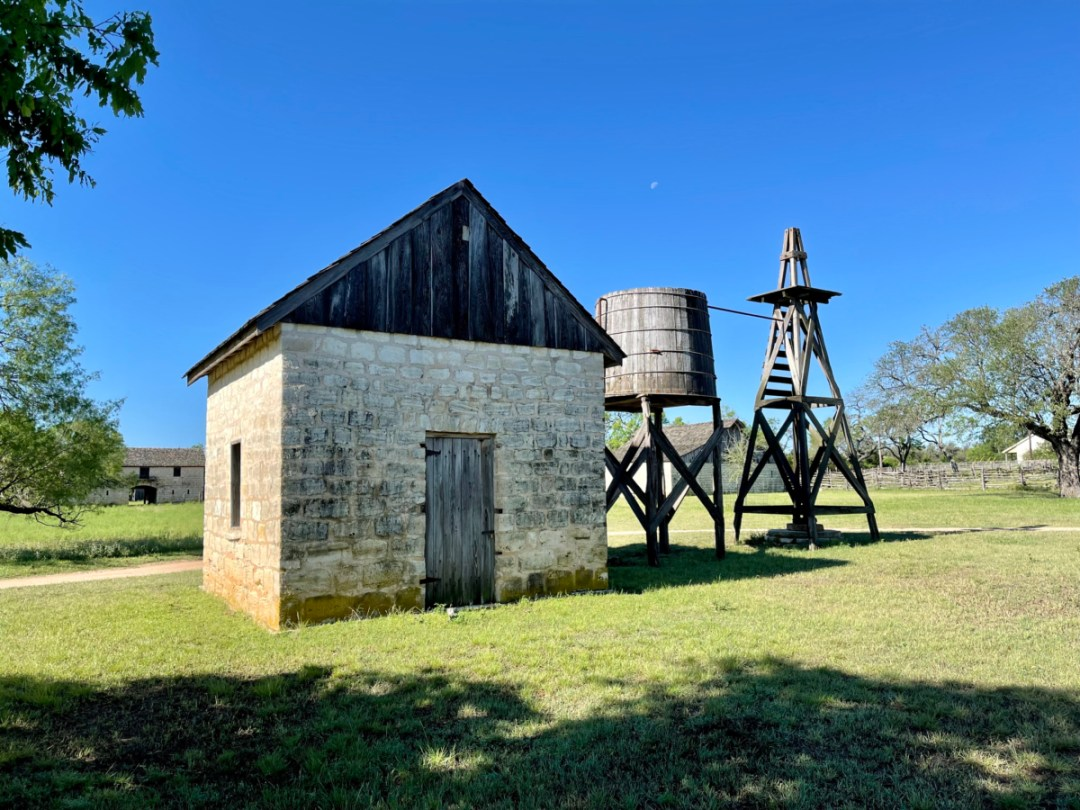 Cooler House Windmill - Explore LBJ Ranch and the Texas Hill Country
