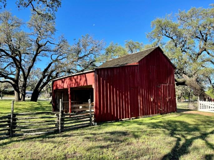 LBJ Boyhood Home barn - Explore LBJ Ranch and the Texas Hill Country