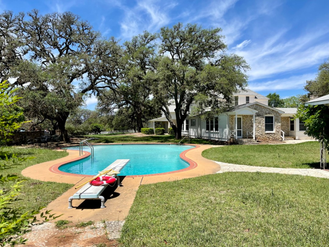 Texas White House pool - Explore LBJ Ranch and the Texas Hill Country
