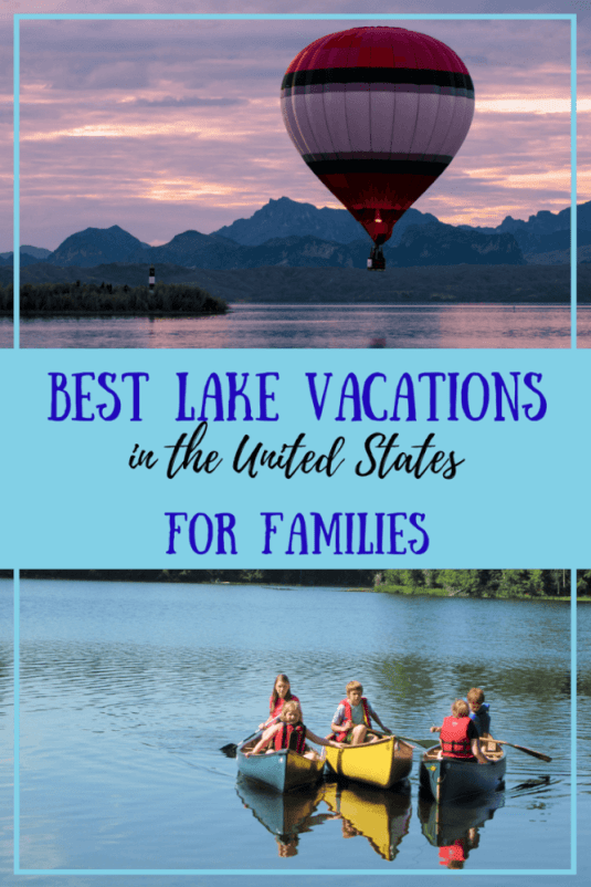 Is there anything better than a summer vacation by the lake with your family? Here's a little round up of the best lake vacations in the United States. Is your special lake on the list?