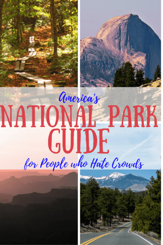 Love the national parks, but hate the crowds? This handy guide has some tips for ways to avoid the crowds in national parks.