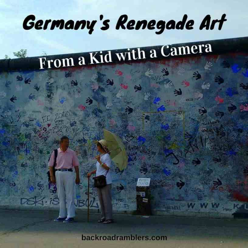 A photo-tour of Germany's public street art. Beautiful and captivating.