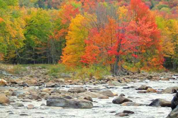 The Deerfield River in Wilmington
