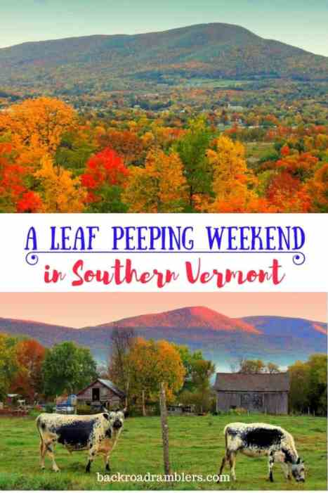 If you have a weekend to explore Southern Vermont in the fall, I urge you to come! It's a photographer's dream, and there's so much to do. Here's our perfect road trip itinerary.