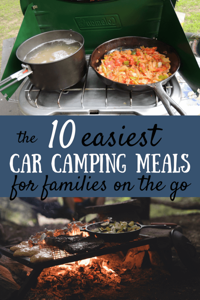 the 10 easiest car camping meals for families on the go