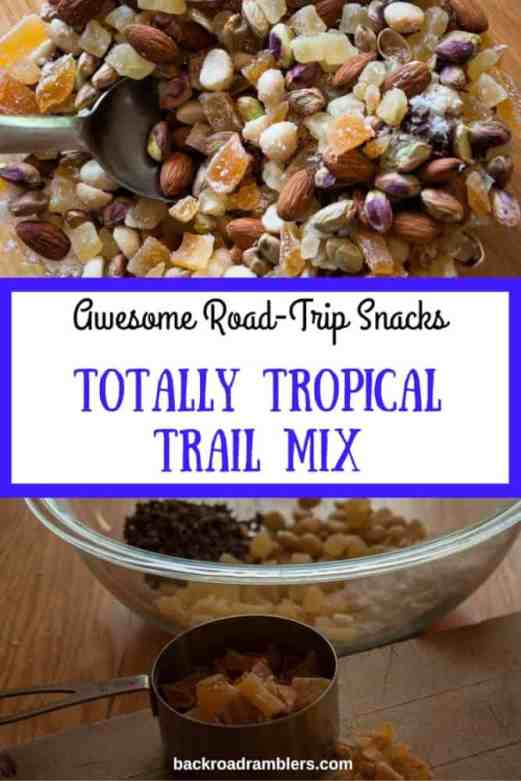 This recipe takes all of 10 minutes to make and it's SO much better than grocery store trail mix! Based on my kids' favorite treats - mangoes, pistachios, and chocolate (in this case cacao nibs). Try it. You won't be disappointed.
