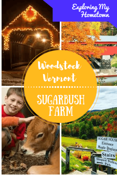 Take a back road adventure to beautiful Woodstock, Vermont and Sugarbush Cheese & Maple Farm