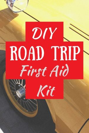 First aid kit for the car