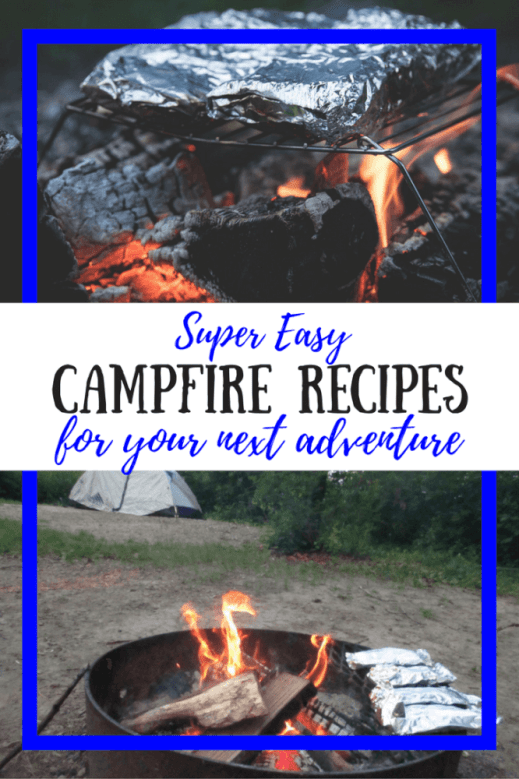 These might just be the easiest camping recipes ever! Campfire definitely required.