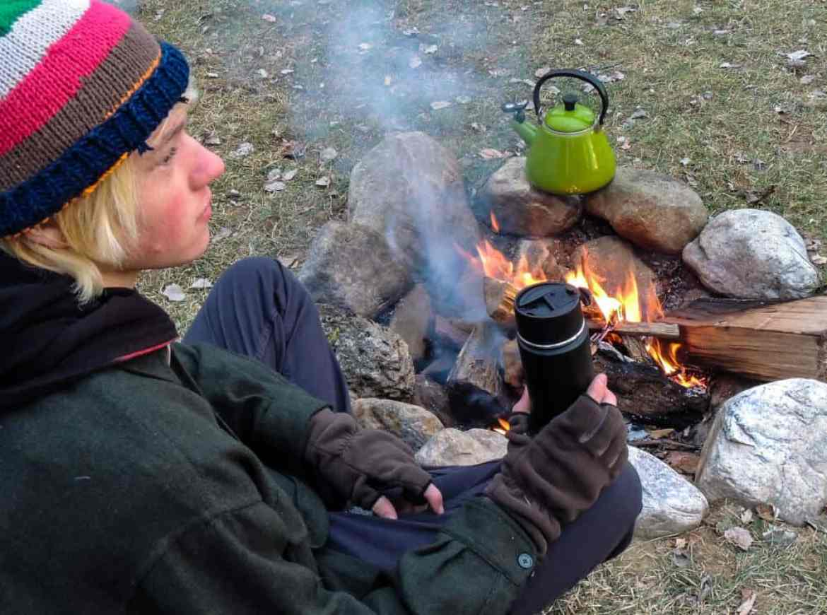 Our favorite winter drinks for camping.
