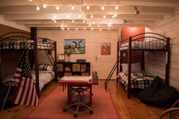 Southern Vermont Vacation rental kids room