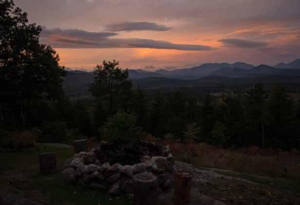 Adirondack Fire Pit
